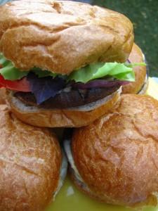 portobello mushroom burgers in canyon lake