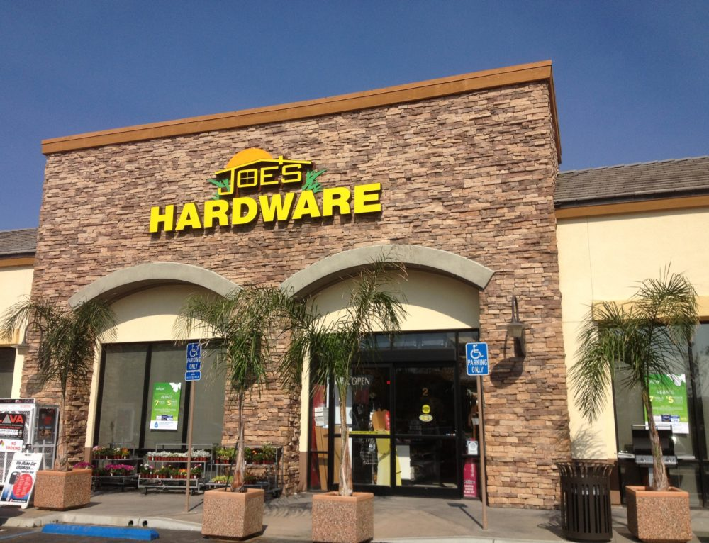 Get What You Need at Joe's Hardware