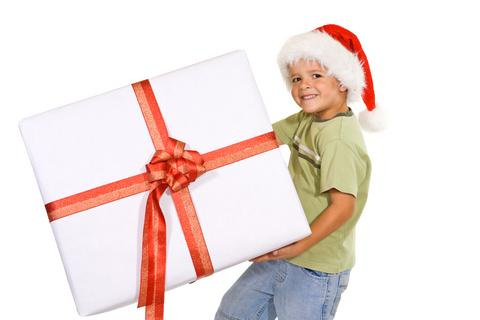 kids giving
