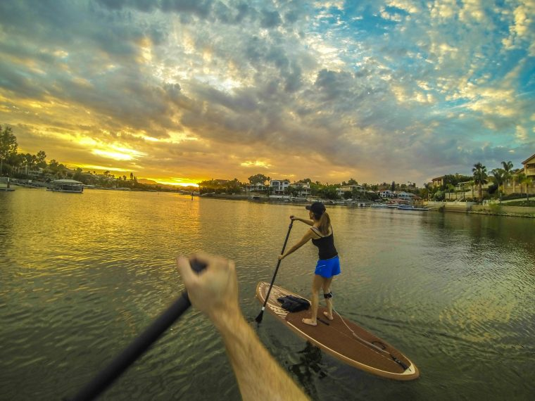 Stand Up Paddle Boarding Canyon Lake