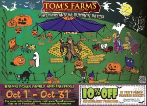Toms Farms Pumpkin Patch